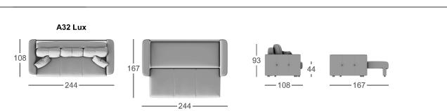 Габаритные размеры MOON 041