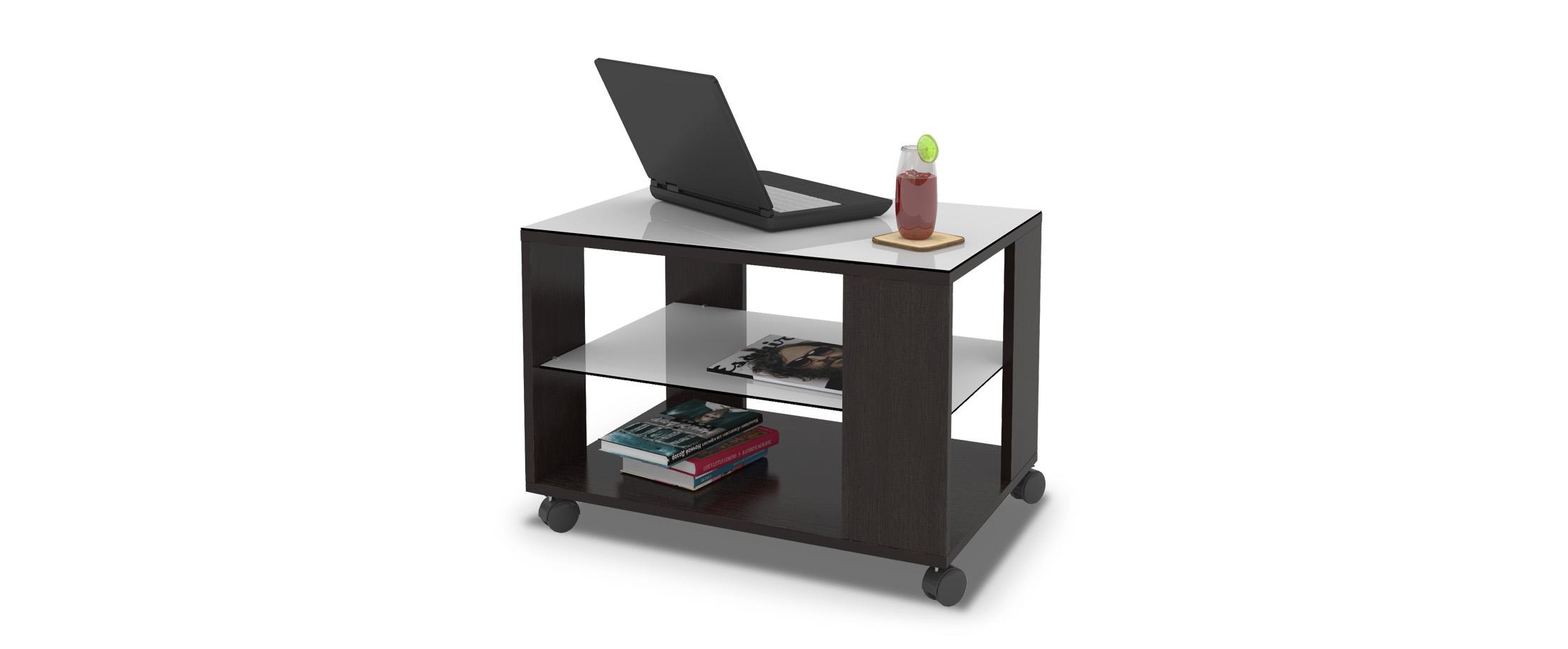 Журнальный стол Mayer 3 Модель 342Столешница из закалённого стекла выдерживает нагрузки до 45 кг. Не боится горячего, бытовой химии и не выгорает. Доставка от 1 дня. Купить в интернет-магазине MOON TRADE.<br>