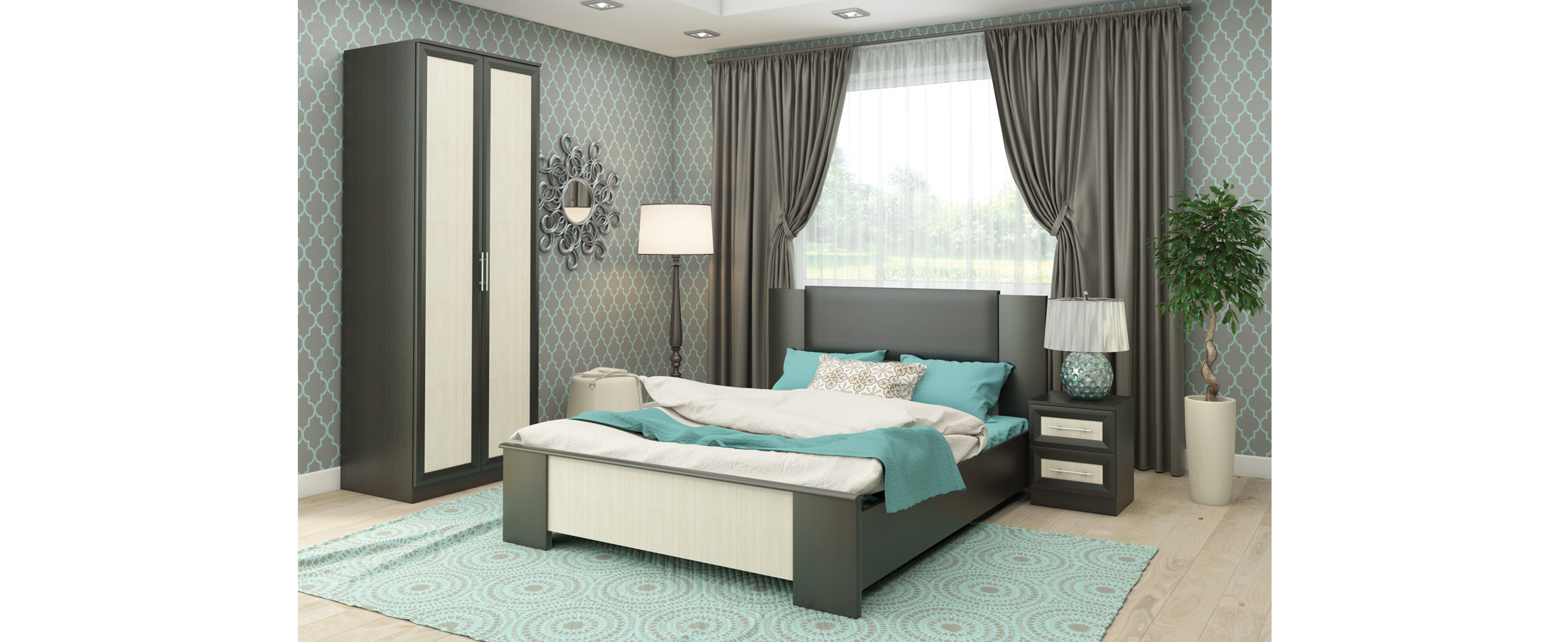 Спальня Юлианна 1 Модель 337 от MOON TRADE