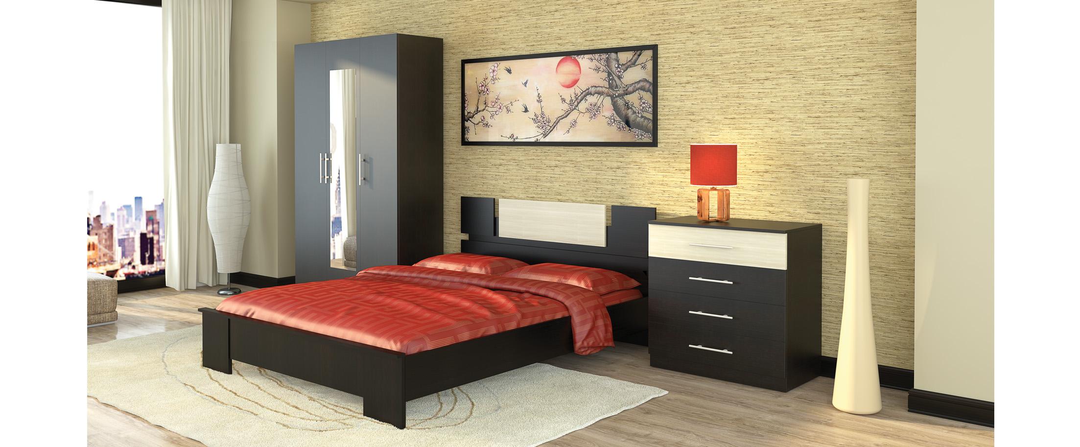 Спальня Оливия 1 Модель 337 от MOON TRADE