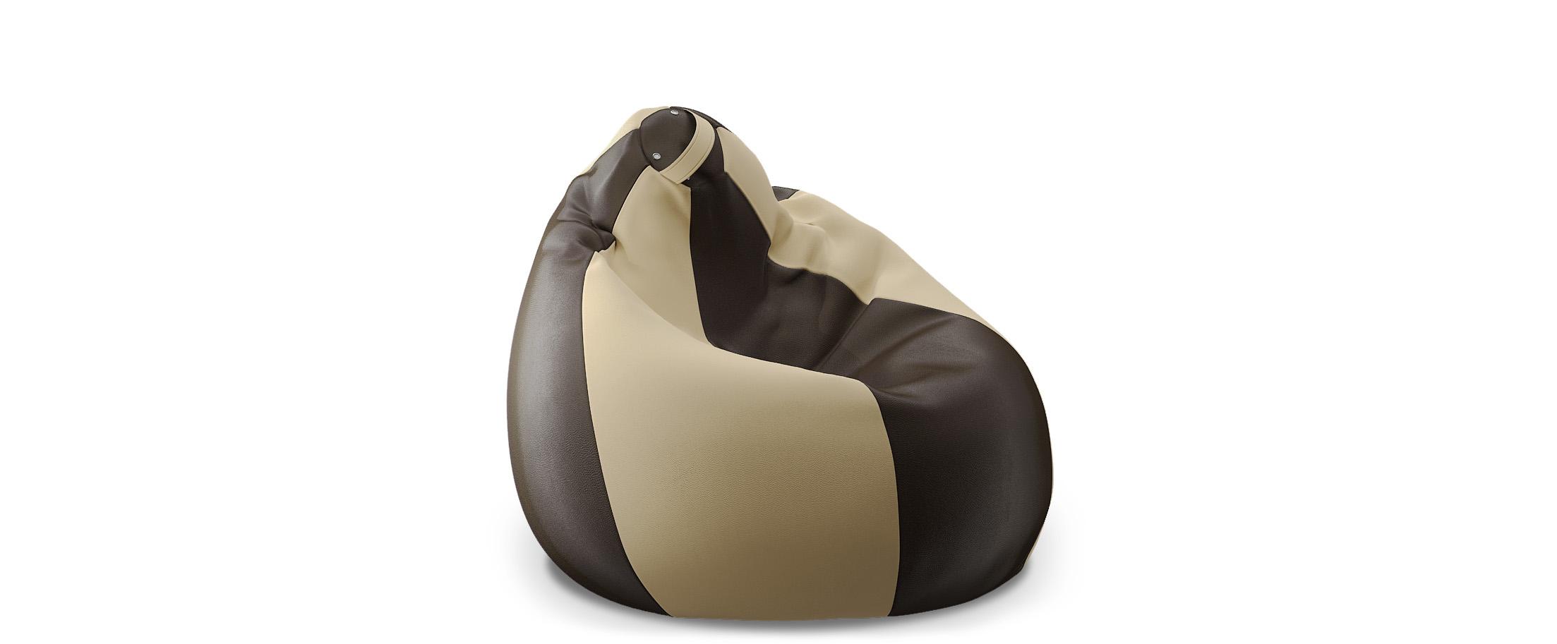Кресло-мешок Модель 024Купить кресло-мешок из экокожи Модель 010 от производителя. Доставка от 1 дня. Гарантия 18 месяцев. Интернет-магазин мебели MOON TRADE.<br>
