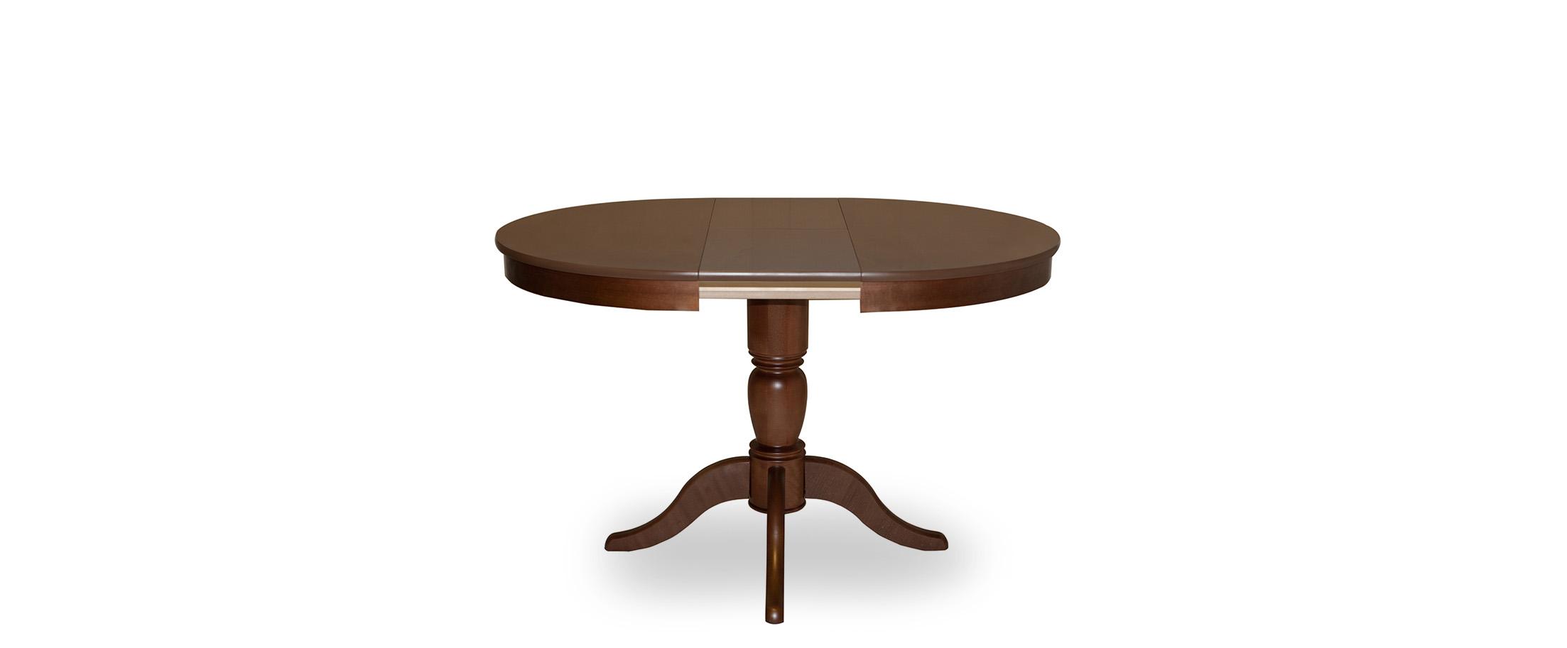Стол Фламинго 1 Американский орех Модель 370Ножки стола из массива дерева, столешница из шпона МДФ. Не образует трещин, идеально сохраняет компактную круглую форму. Гарантия 18 месяцев. Доставка от 1 дня.<br><br>Ширина см: 90<br>Глубина см: 90<br>Высота см: 75<br>Цвет столешницы: Американский орех<br>Материал столешницы: Шпон МДФ<br>Материал корпуса: Массив бука<br>Цвет корпуса: Американский орех