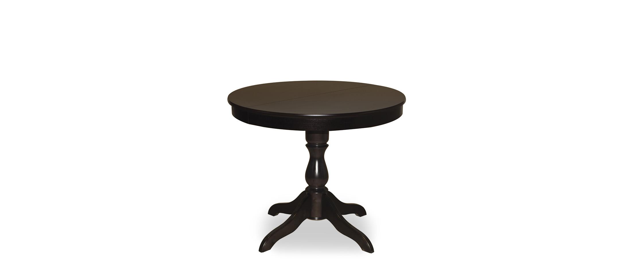 Стол Фламинго 1 Венге Модель 370Ножки стола из массива дерева, столешница из шпона МДФ. Не образует трещин, идеально сохраняет компактную круглую форму. Гарантия 18 месяцев. Доставка от 1 дня.<br>
