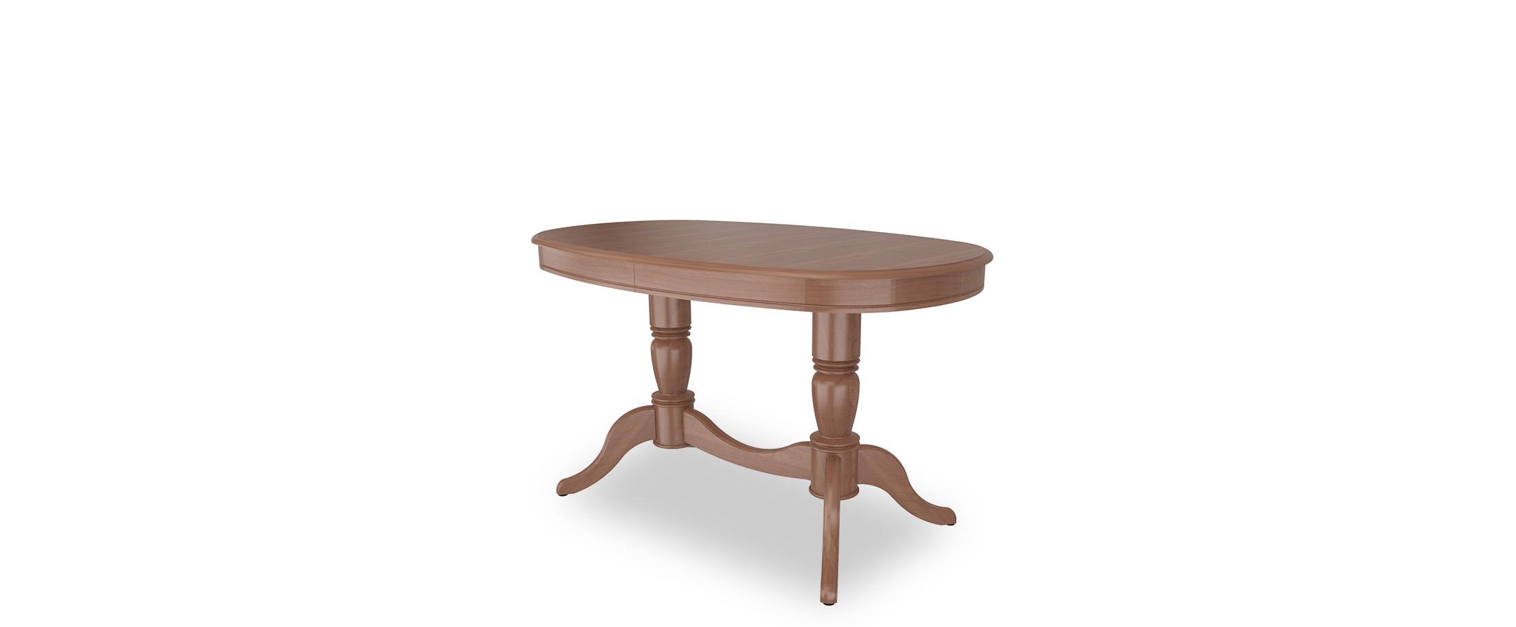 Стол обеденный Фламинго 9 Вишня Модель 370Ножки стола из массива дерева, столешница из шпона МДФ. Не образует трещин, идеально сохраняет компактную овальную форму. Гарантия 18 месяцев. Доставка от 1 дня.  Артикул: Д000130.<br>