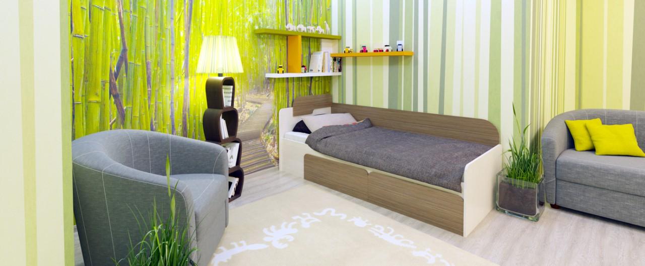 Кровать односпальная Скейт Модель 505
