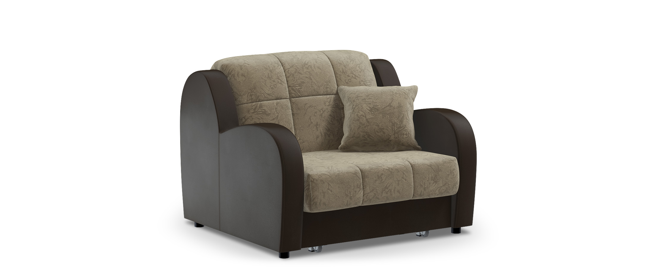 Кресло раскладное Барон 022Купить бежевое кресло-кровать Барон 022. Доставка от 1 дня. Подъём, сборка, вынос упаковки. Гарантия 18 месяцев. Интернет-магазин мебели MOON TRADE. Артикул: 001176.<br>