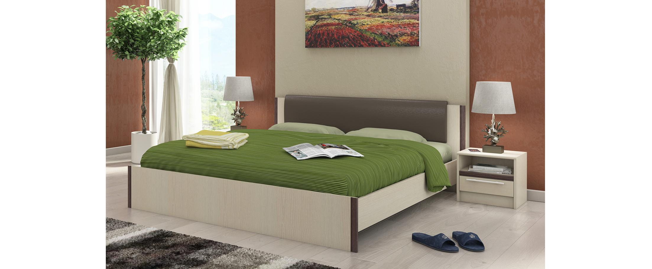 Кровать двуспальная Новелла Модель 290