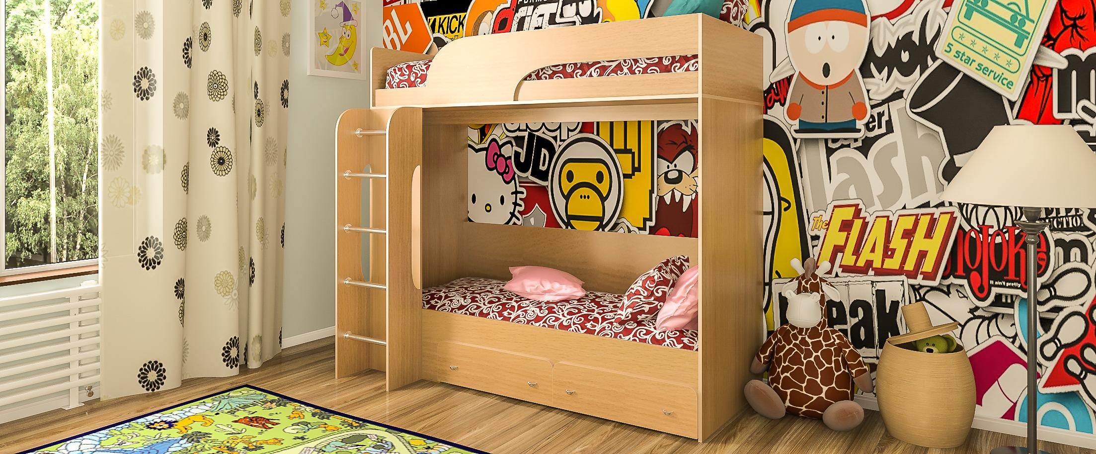 Кровать односпальная Катюша-1 Модель 505