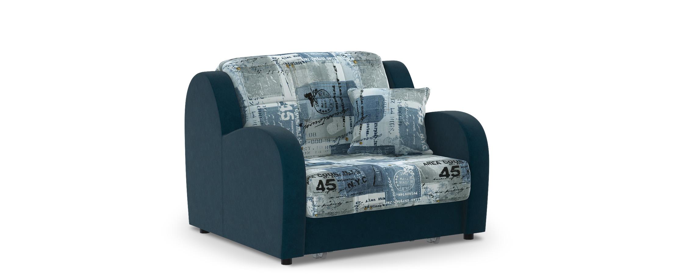 Кресло раскладное Барон 022Купить синее кресло-кровать Барон 022. Доставка от 1 дня. Подъём, сборка, вынос упаковки. Гарантия 18 месяцев. Интернет-магазин мебели MOON TRADE. Артикул: 001275<br>