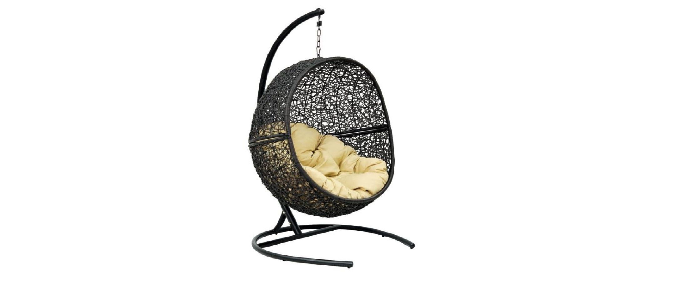 Подвесное кресло «Lunar Black»Подвесное кресло «Lunar Black»<br>