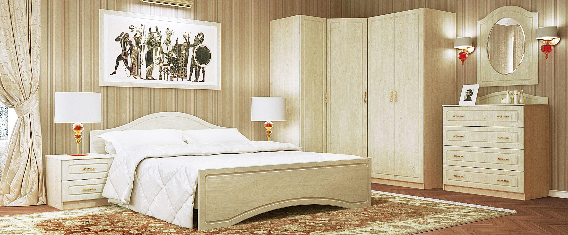 Спальня Афина-4 Модель 513 от MOON TRADE