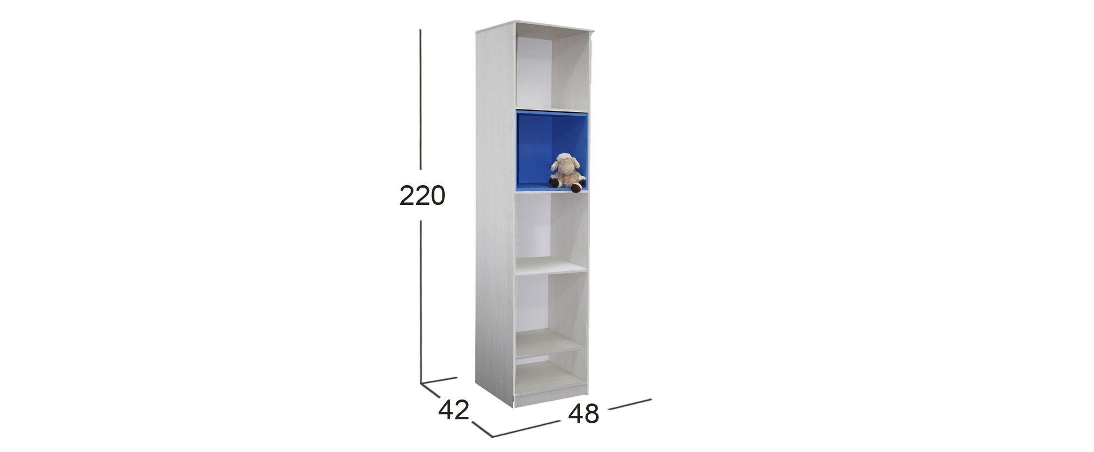 Шкаф открытый Скейт-5 Модель 507