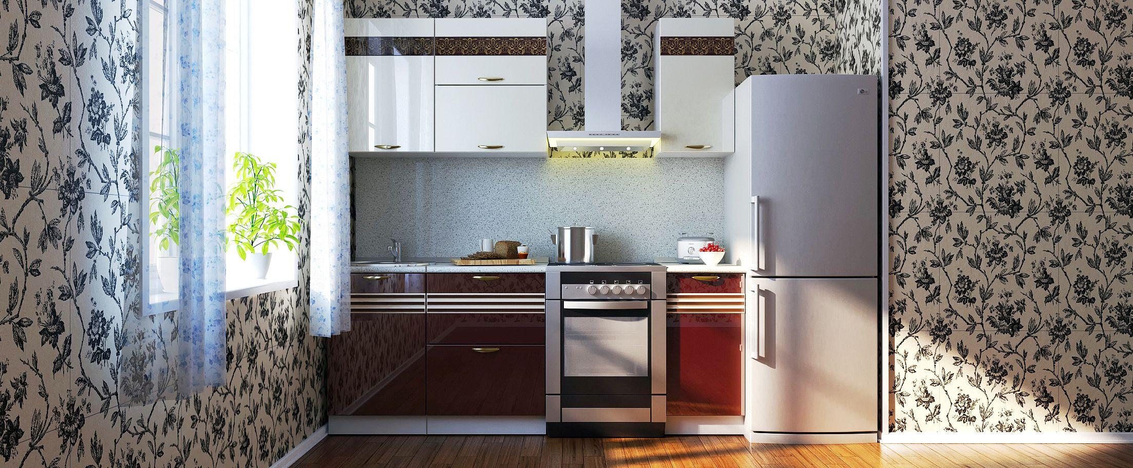 Кухня Корица 1,5 м от MOON TRADE