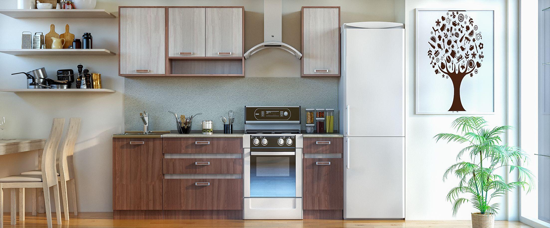 Кухня Шимо темный 1,7 мКупить удобный и практичный набор кухонного гарнитура в интернет магазине MOON TRADE. Быстрая доставка, вынос упаковки, гарантия! Выгодная покупка!<br>