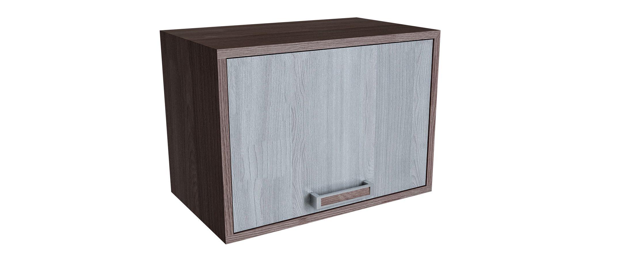 Шкаф навесной Шимо темный Модель 711 от MOON TRADE