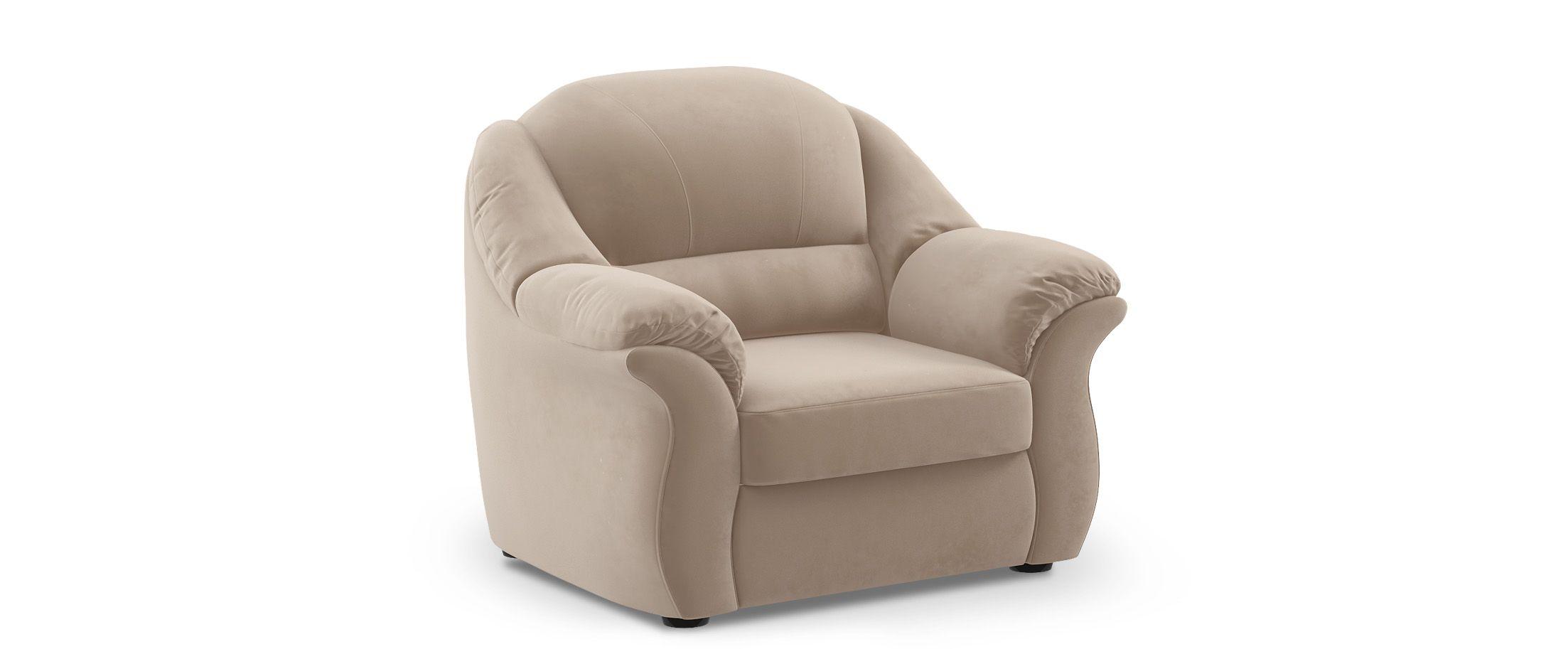 Кресло Бостон 017Купить бежевое кресло Бостон из флока от производителя. Доставка от 1 дня. Подъём, сборка, вынос упаковки. Гарантия 18 месяцев. Интернет-магазин мебели MOON TRADE.<br>