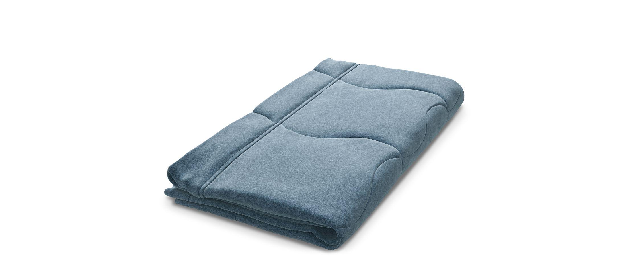 Чехол для дивана Сити 023Размеры 146х107х2 см. Купить синий чехол для дивана в интернет-магазине MOON TRADE.<br><br>Ширина см: 146<br>Глубина см: 107<br>Высота см: 2<br>Материал: Велюр