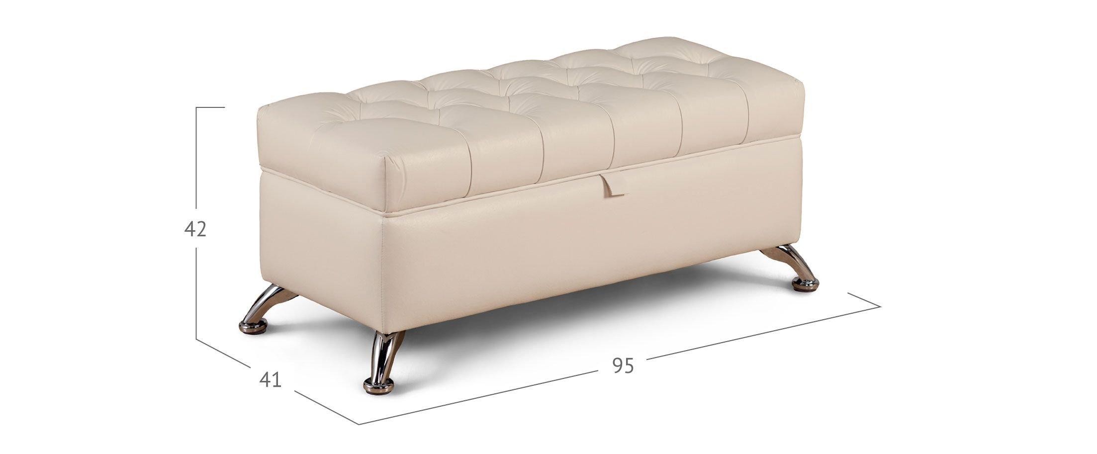 Банкетка Рондель суфле Модель 581
