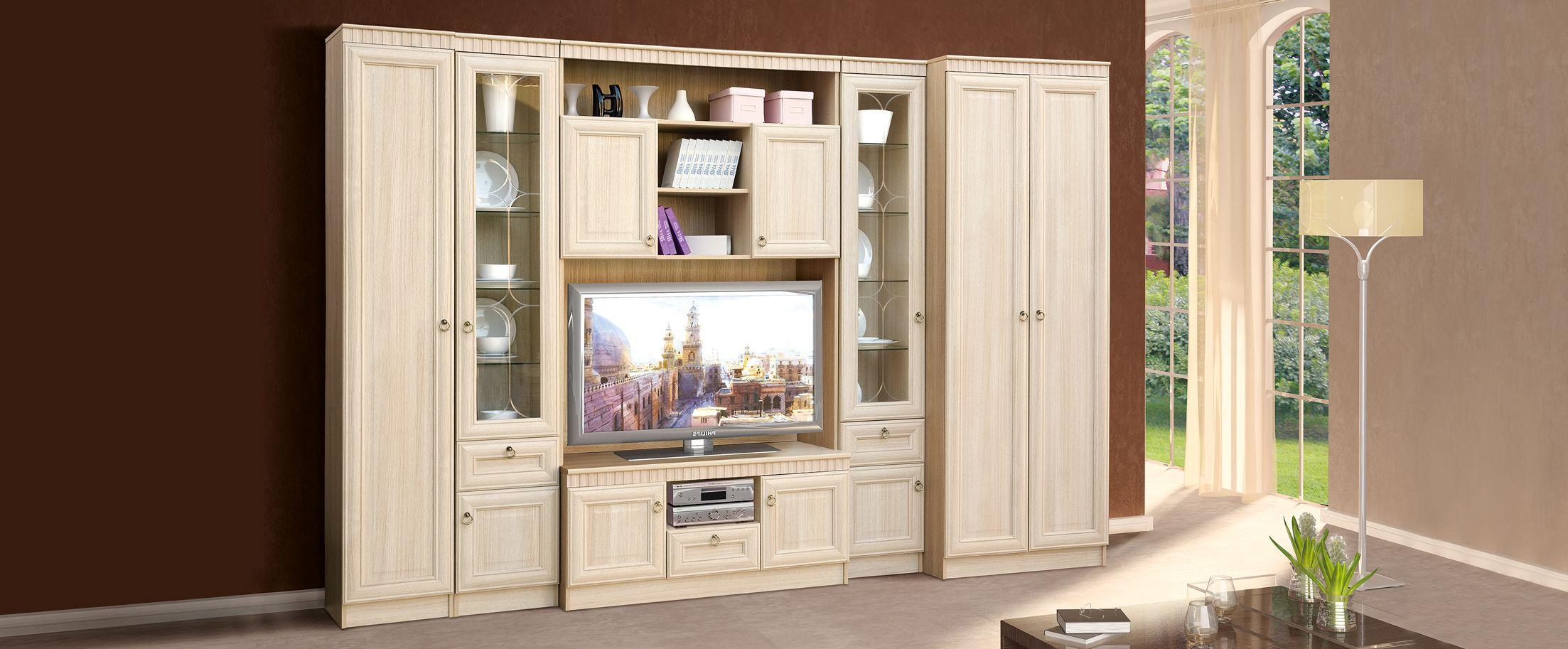 Гостиная Инна светлаяГостиная Инна светлая Модель 900. Артикул Д000494.<br>