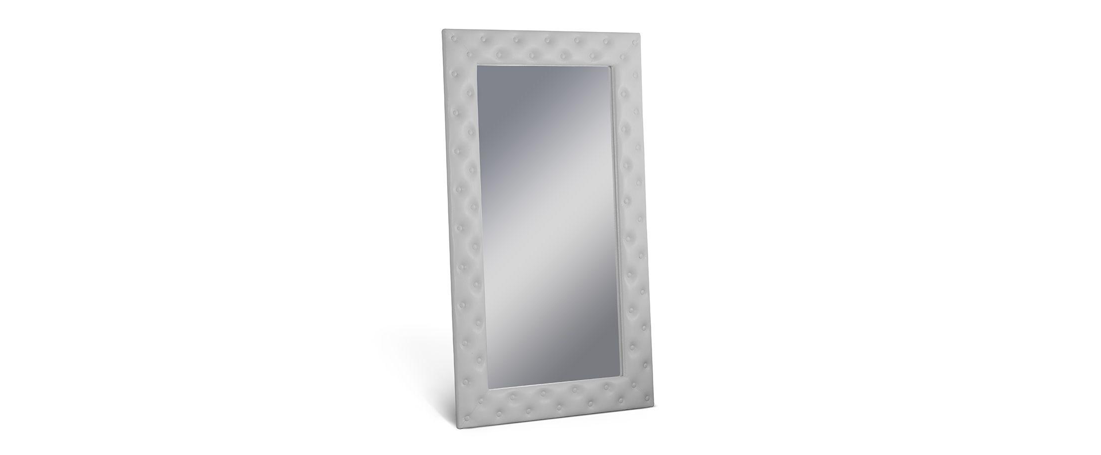 Зеркало Кааба большое с пуговицами молоко от MOON TRADE