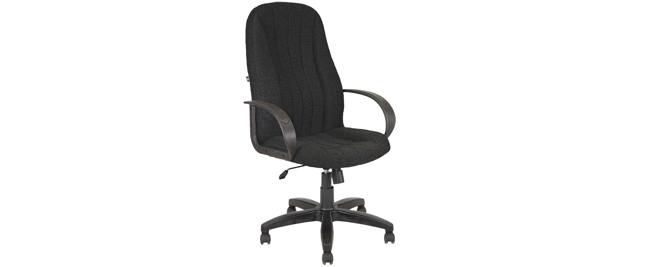 Кресло офисное AV 107 черное Модель 999 от MOON TRADE