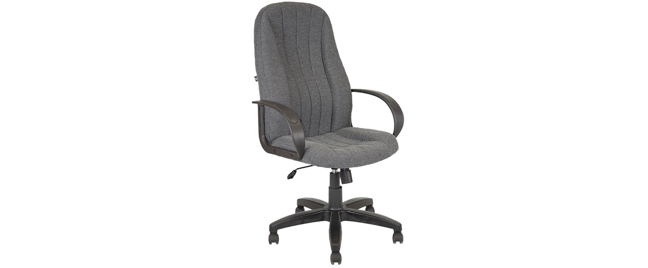 Кресло офисное AV 107 серое Модель 999 от MOON TRADE