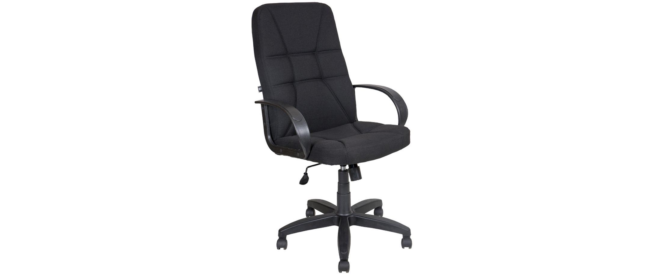 Кресло офисное AV 114 тканевое черное Модель 999 от MOON TRADE