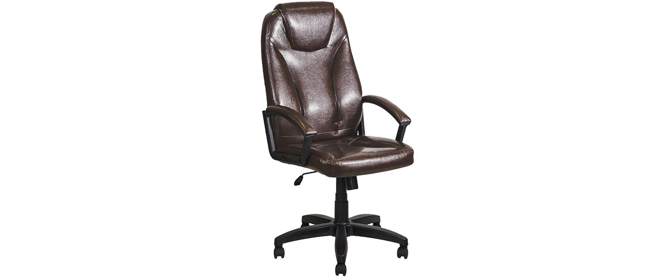 Кресло офисное AV 115 из экокожи цвет шоколад Модель 999Кресло офисное AV 115 из экокожи цвет шоколад Модель 999. Артикул Д000687<br><br>Ширина см: 50<br>Глубина см: 64<br>Высота см: 130<br>Цвет: Коричневый