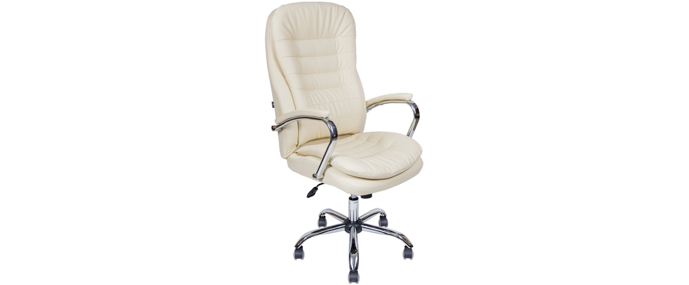 Кресло офисное AV 118 из экокожи цвет слоновая кость Модель 999Кресло офисное AV 118 из экокожи цвет слоновая кость Модель 999. Артикул Д000695<br>