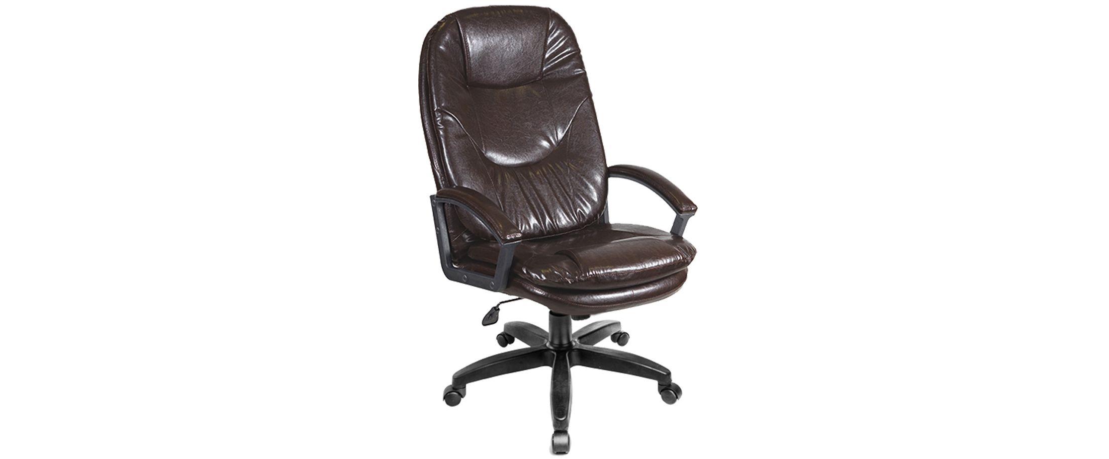 Кресло офисное AV 121 из экокожи цвет шоколад Модель 999Кресло офисное AV 121 из экокожи цвет шоколад Модель 999. Артикул Д000703<br>