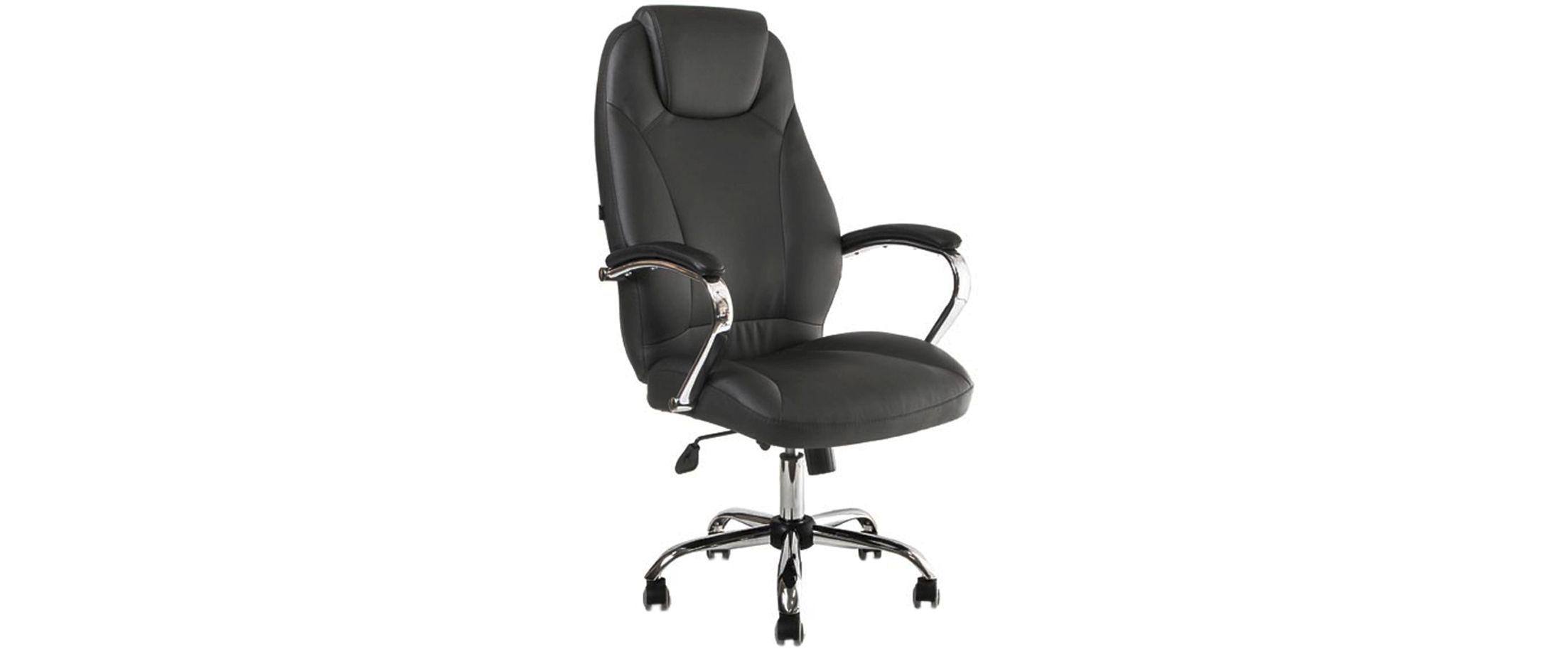 Кресло офисное AV 122 из экокожи цвет черный Модель 999Кресло офисное AV 122 из экокожи цвет черный Модель 999. Артикул Д000707<br>