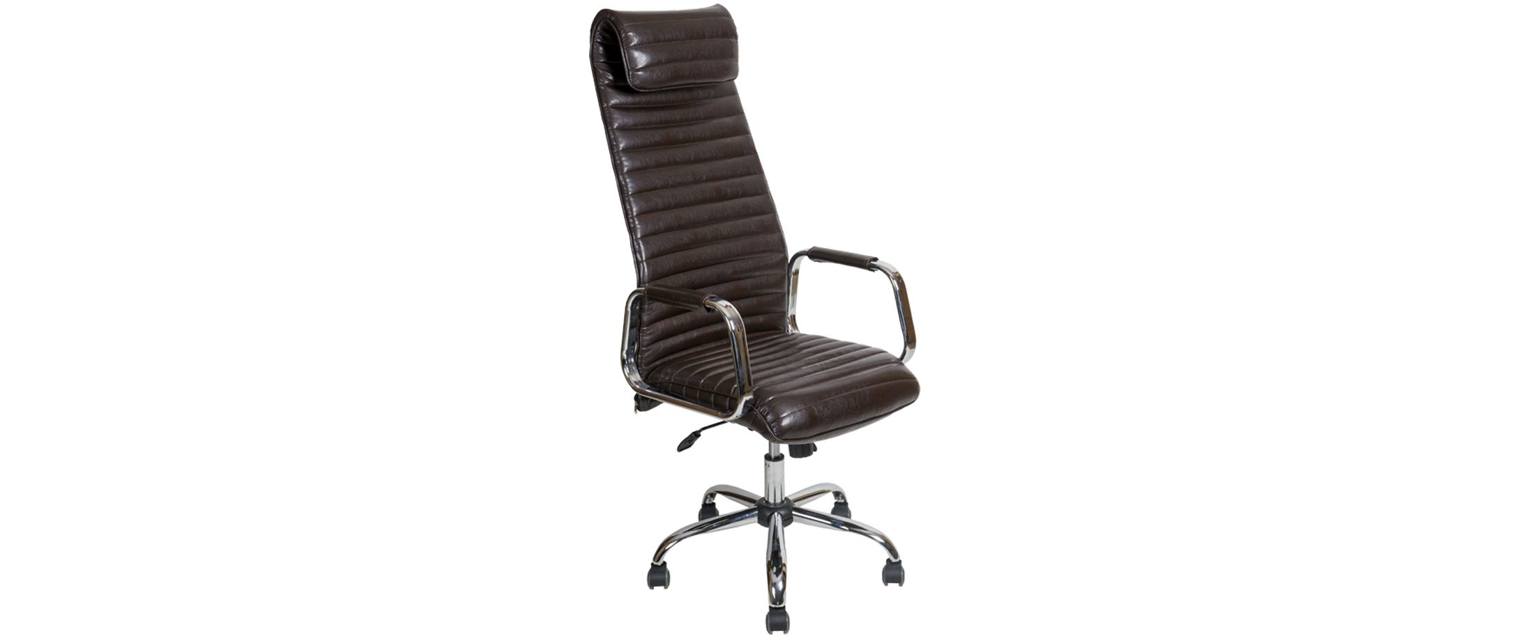 Кресло офисное AV 131 из экокожи цвет шоколад Модель 999Кресло офисное AV 131 из экокожи цвет шоколад Модель 999. Артикул Д000722<br>