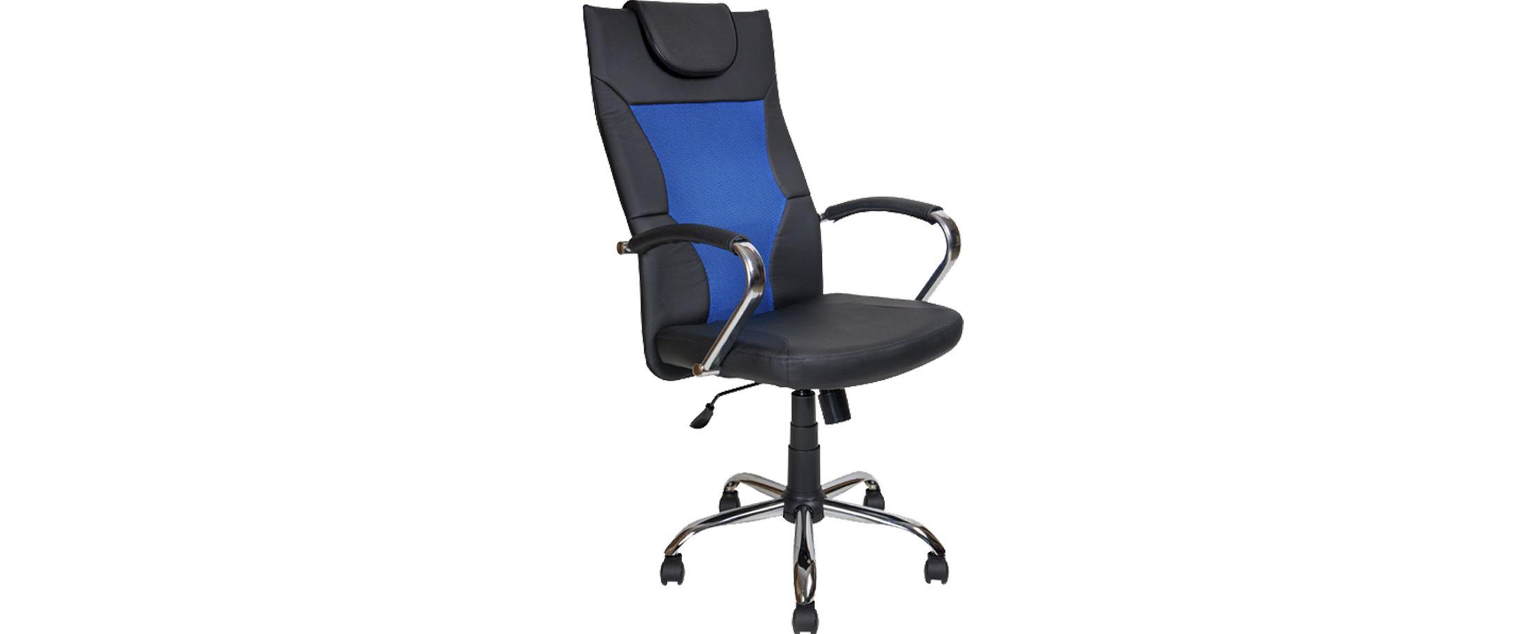 Кресло офисное AV 134 сетка синяя Модель 999Кресло офисное AV 134 сетка синяя Модель 999. Артикул Д000725<br>