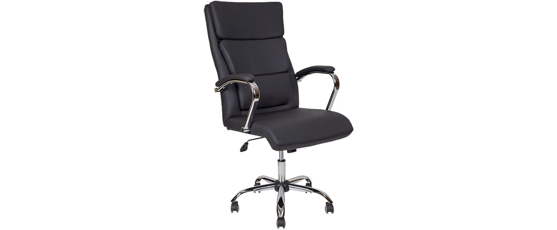 Кресло офисное AV 135 из экокожи цвет черный Модель 999Кресло офисное AV 135 из экокожи цвет черный Модель 999. Артикул Д000728<br><br>Ширина см: 62<br>Глубина см: 50<br>Высота см: 123<br>Цвет: Черный