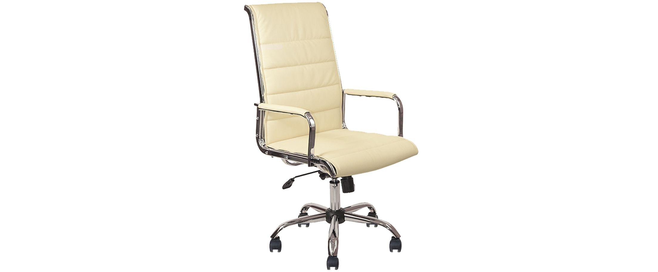 Кресло офисное AV 137 из экокожи цвет слоновая кость Модель 999Кресло офисное AV 137 из экокожи цвет слоновая кость Модель 999. Артикул Д000734<br><br>Ширина см: 50<br>Глубина см: 60<br>Высота см: 120<br>Цвет: Бежевый