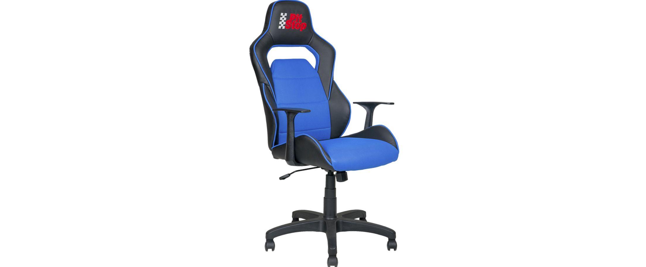Кресло офисное AV 140 цвет черный/синий Модель 999Кресло офисное AV 140 цвет черный/синий  Модель 999. Артикул Д000737<br>