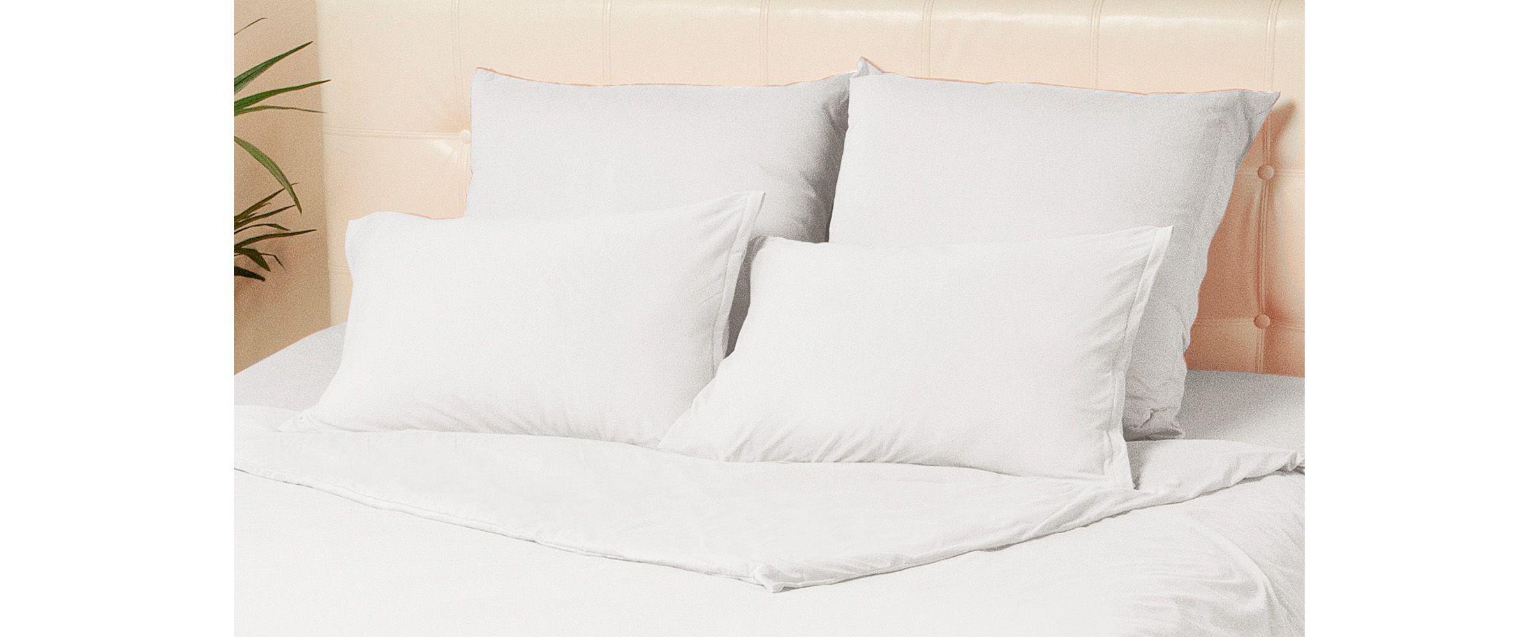 Комплект наволочек на молнии 50х70 белого цвета Violett Модель 4002 от MOON TRADE