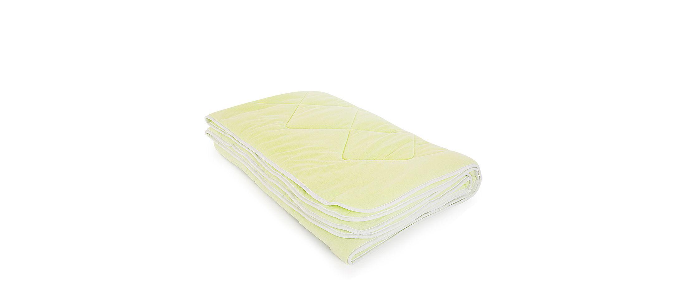 Одеяло трикотажное Бамбук салатовый 140х205 Модель 4006 от MOON TRADE