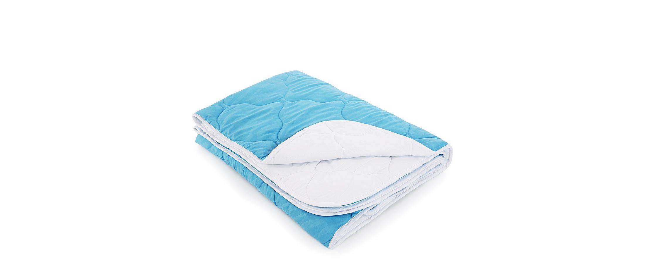 Одеяло «Для тебя» 172х205 голубого цвета Модель 4004Одеяло «Для тебя» 172х205 голубого цвета Модель 4004. Артикул К000734