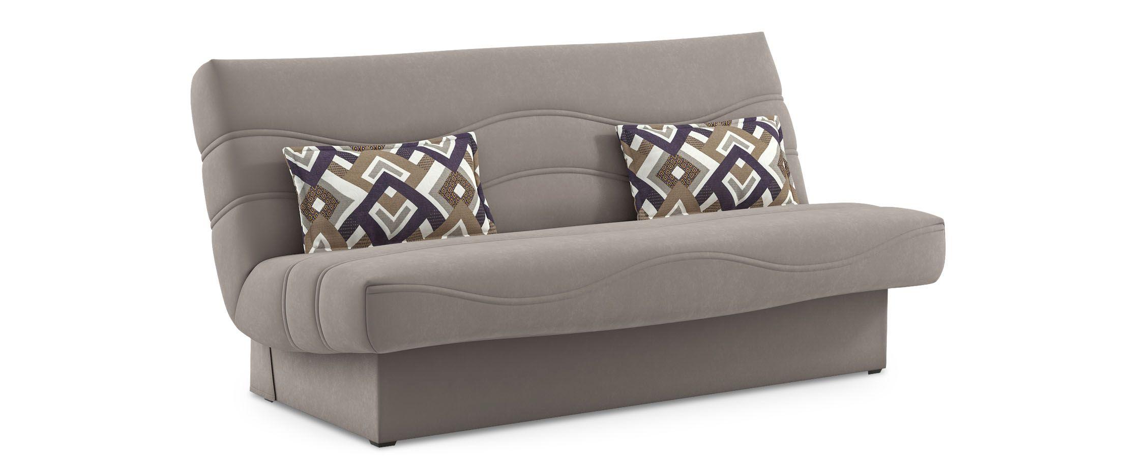 Диван прямой клик-кляк Баккара 037Гостевой вариант и полноценное спальное место. Размеры 200х108х105 см. Купить бежевый диван клик-кляк в интернет-магазине MOON TRADE.<br>