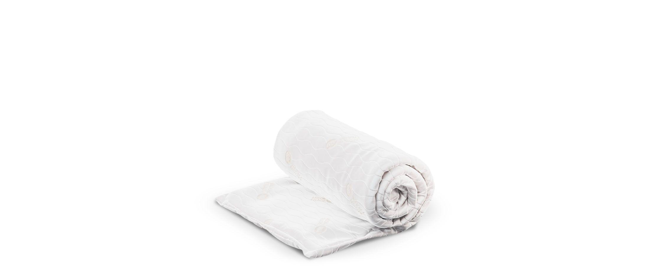 Наматрасник MOON TRADE 150х205 см Модель 059Наматрасник MOON TRADE изготовлен из трикотажной ткани, простёганной на синтепоне. Резинки по углам для крепления к спальному месту делают его практичным и удобным в эксплуатации.<br>