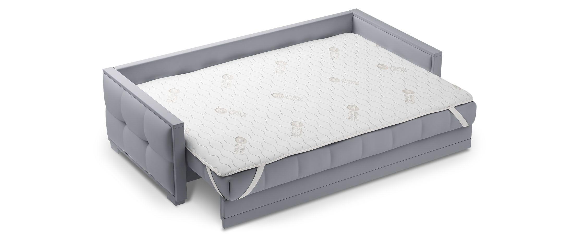 Наматрасник MOON TRADE 190х205 см Модель 059Наматрасник MOON TRADE изготовлен из трикотажной ткани, простёганной на синтепоне. Резинки по углам для крепления к спальному месту делают его практичным и удобным в эксплуатации.<br><br>Ширина см: 190<br>Глубина см: 205<br>Высота см: 1<br>Материал: Трикотаж