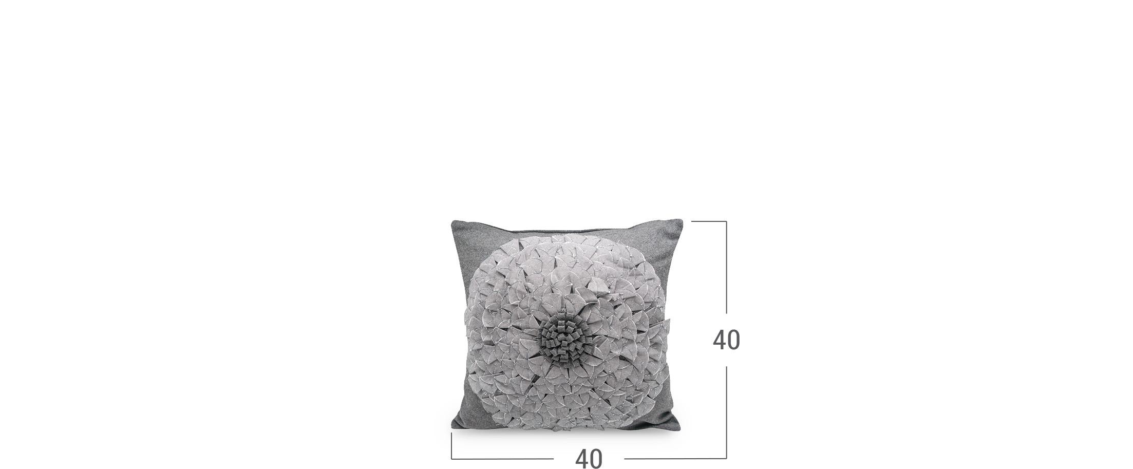 Подушка декоративная Флора 4010
