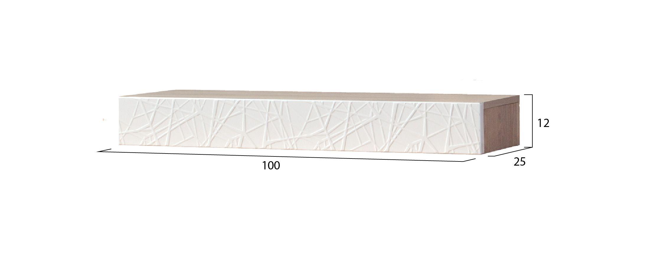 Полка навесная Йорк 31.0-ПЛ Модель 907