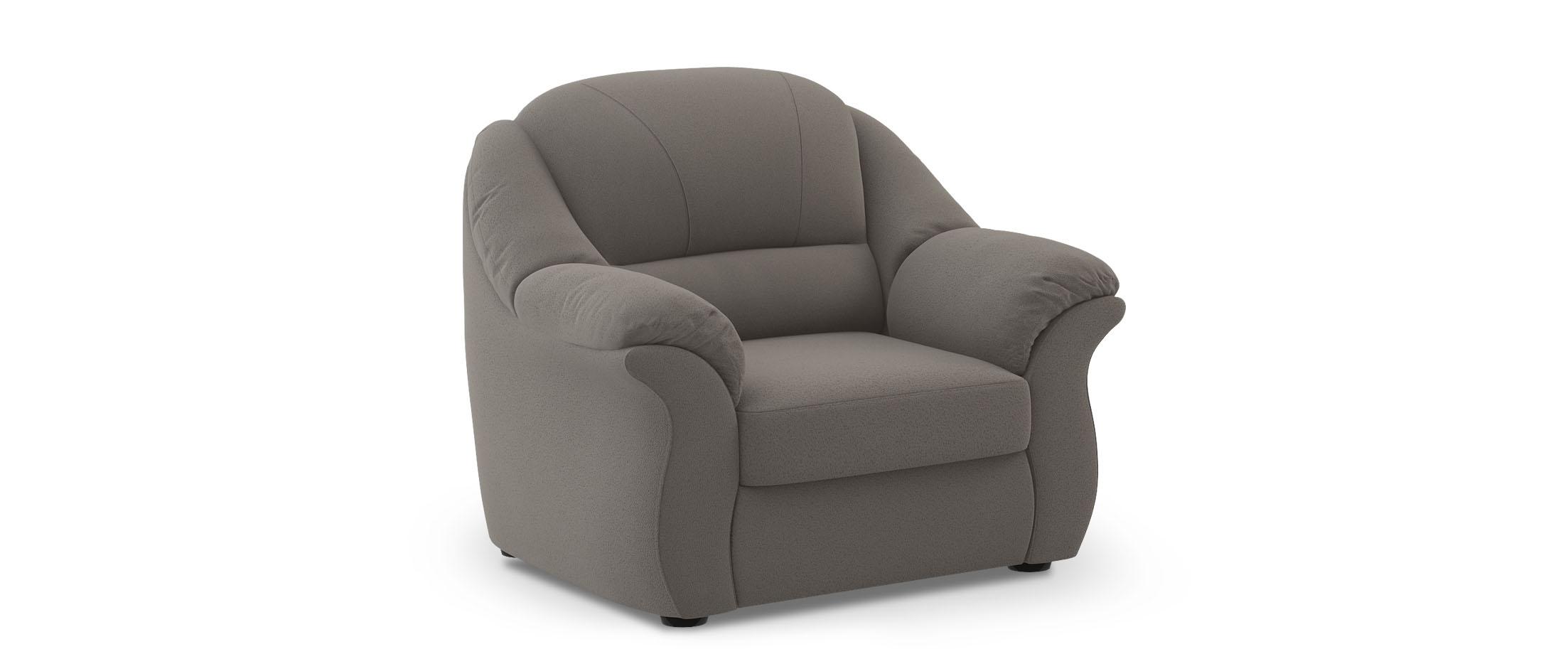Кресло Бостон 017Купить серое кресло Бостон из замши от производителя. Доставка от 1 дня. Подъём, сборка, вынос упаковки. Гарантия 18 месяцев. Интернет-магазин мебели MOON-TRADE.RU<br>