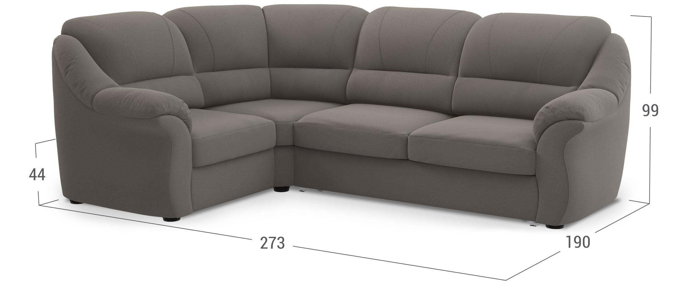 Серый диван в Москве с доставкой
