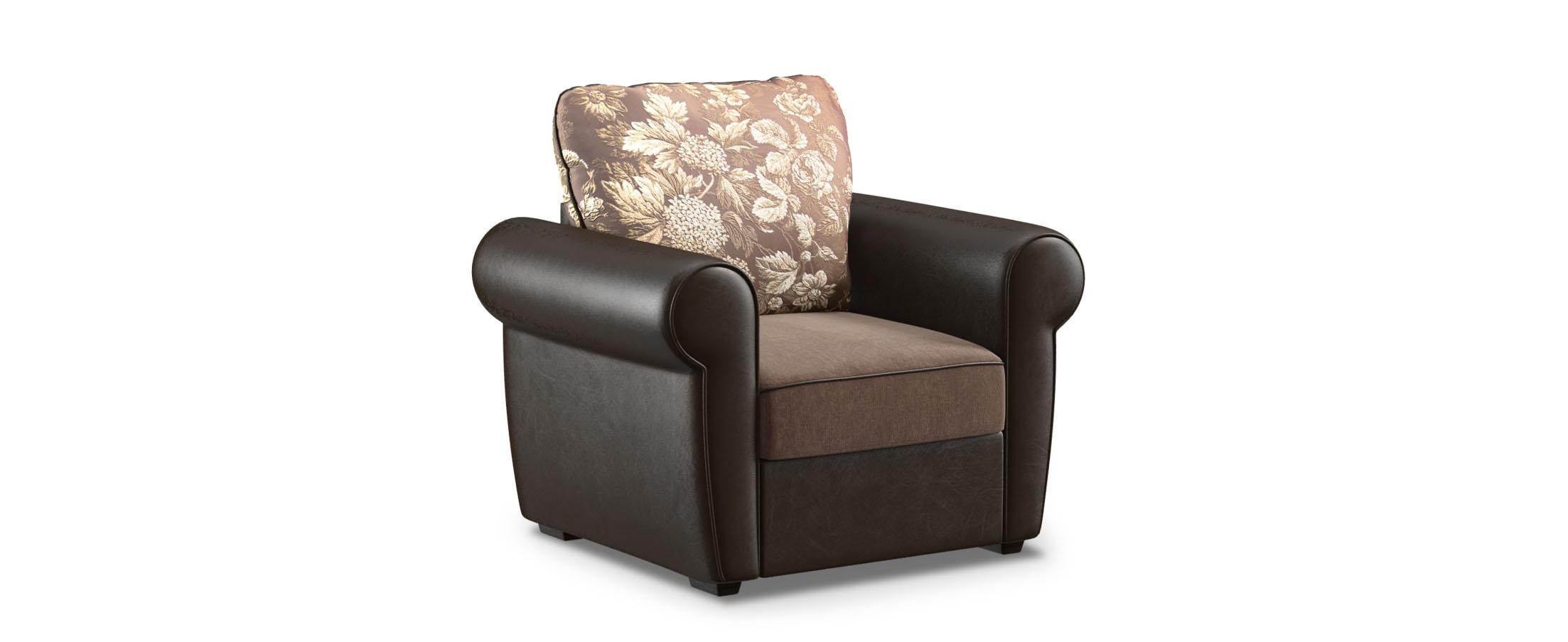 Кресло тканевое Рейн 123Купить коричневое кресло Рейн 123. Доставка от 1 дня. Подъём, сборка, вынос упаковки. Гарантия 18 месяцев. Интернет-магазин мебели MOON-TRADE.RU.<br>