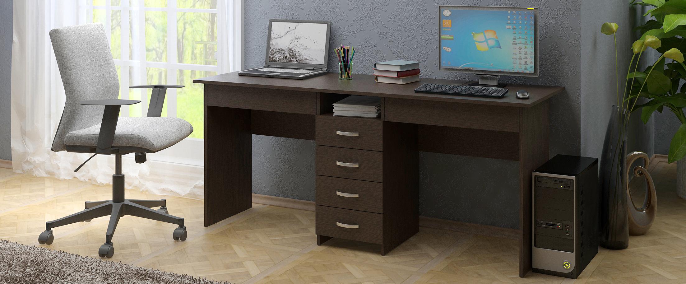 Стол Тандем-2Я Модель 834Привлекательный, внешний вид столов в 4-х современных расцветках и цветовой комбинации, не оставят Вас равнодушными.<br>