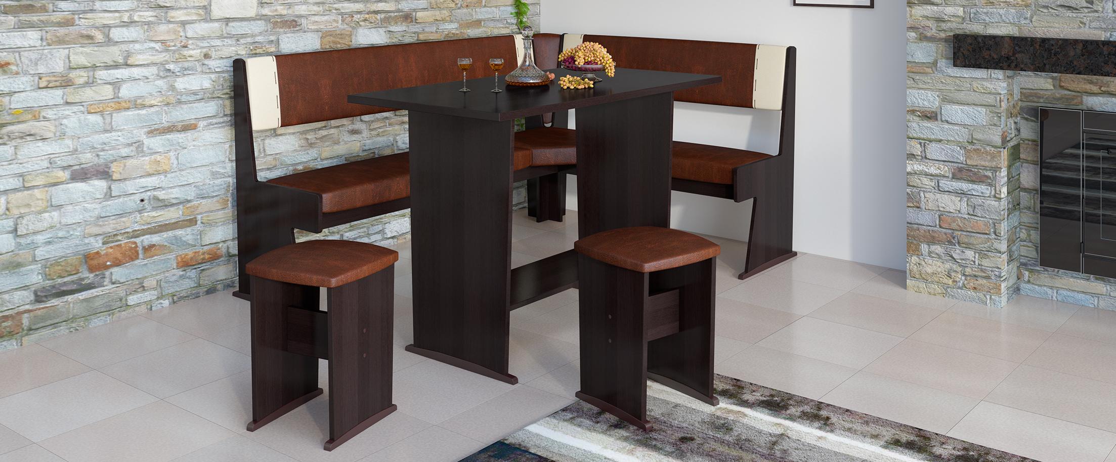 Кухонный уголок Амиго Модель 3016 от MOON TRADE