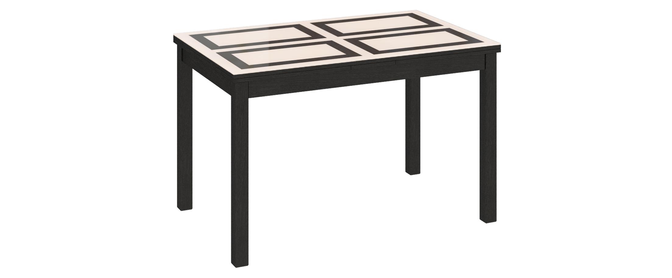 Стол обеденный Диез Т11 Модель 3038Благодаря своим компактным габаритам и контрастному исполнению, стол подойдет для небольших помещений. Гладкая поверхность стола приятна на ощупь и не требует особого ухода.<br>